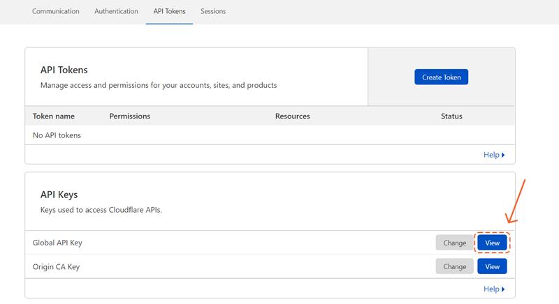 دریافت API Token