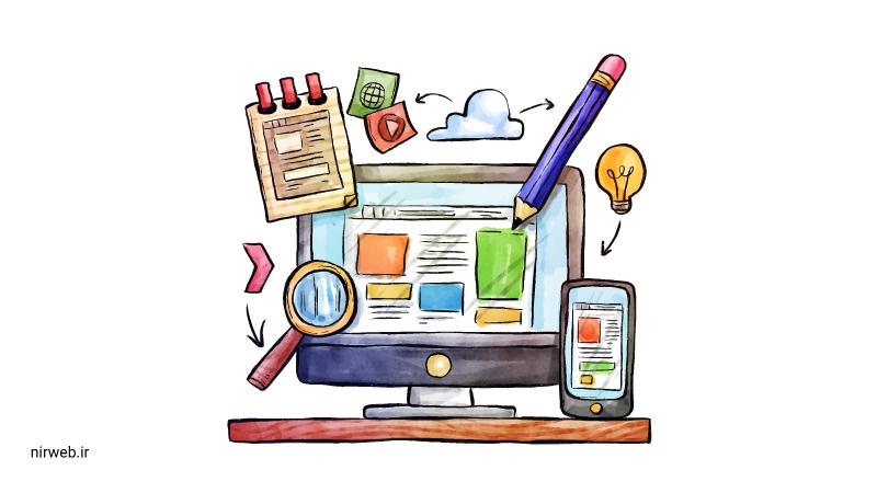 طراحی زیبا در ایجاد فروشگاه آنلاین