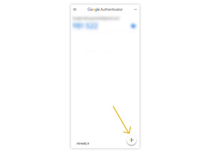 اپلیکیشن google authenticato